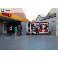 China Mobile 7D Movie Theater For Trailer Convenient In Shopping Mall Gate wholesale