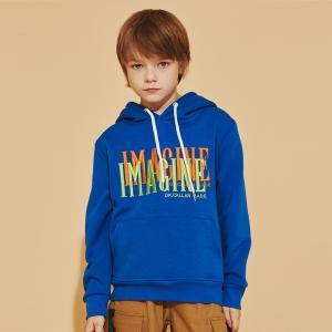 China Customized Logo BEIANJI Kids Cotton Hoodies Boys Tops wholesale