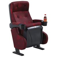 China High Back PU Foam Foldable Church Furniture Chairs With PP Movable Armrest wholesale