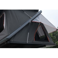 China Camping Aluminum Hard Shell Z-Shaped Pop-up Roof Top Tent Safe Pop Up Tent wholesale