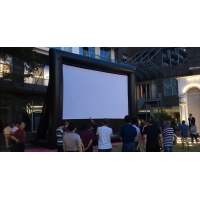 China Outdoor Inflatable Movie Screen Removable Portable Air Projector Screen wholesale