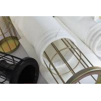 China Wear-resisting 550GSM Polyester Dust Collector Filter Bag for Cement Plant wholesale