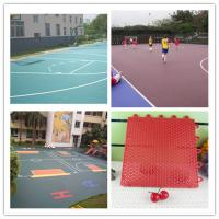 China 305*305*15.8mm Sport Court Flooring Rubber Floor For Outdoor Sports Court on sale