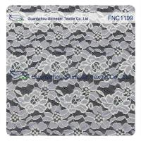 Buy cheap Cotton Nylon Lace Fabric of Floral pattern for Fashion Garments, Wedding Dress from wholesalers