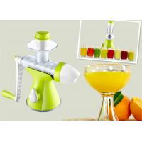 Fresh Fruit Hand Ice Cream Maker Ergonomic Handles For Children 1.10kg Weight