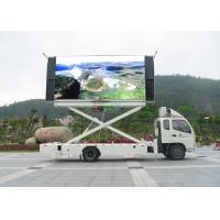 China Full Color 2000HZ 1 / 8 Scan Truck Mounted LED Display Signs 1R1G1B High Definition wholesale