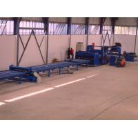China Standard cut to length line , hot rolled mild steel light pole machine for 6m 8m 14m wholesale