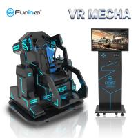 China VR Mecha Games 9D Virtual Reality Simulator 700w Power 1610 * 1940 * 1780mm Size on sale