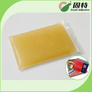 China Light Amber Block Bookbinding Hot Melt Adhesive Glue , Animal Hide Glue wholesale