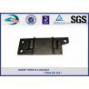 China Cast Iron Base Plate QT400-15 Plain Railway Tie Plate Fastener Components wholesale