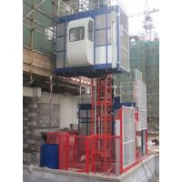 Quality 380V 50HZ / 60HZ Construction Material Hoists 1000KGS With Double Cage for sale