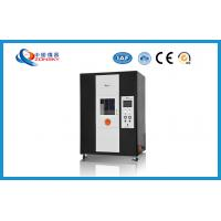 China Vertical Single Wire And Cable Testing Equipment 170~190 MM Total Flame Height wholesale
