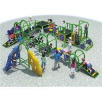 China High Capacity Steel Playground Equipment Customized Color Meet The Childrens Curiosity wholesale