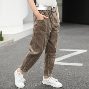 China 120cm 130cm Summer Thin Girls Cotton Pants BEIANJI Children'S Casual Pants wholesale