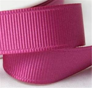 China Fancy 1 Inch Grosgrain Ribbon , High Durability Plain Grosgrain Ribbon wholesale
