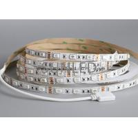 China Waterproof IP65 LED Flexible Strip Lights SMD5050 12V 12W RGB Emitting Color on sale