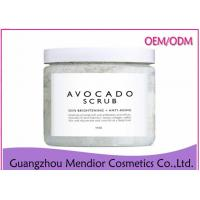 Avocado Brightening Body Scrub With Vitamin C / Avocado Oil Dead Skin Revealing