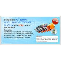 Buy cheap Compatible Canon PGI-520BK/ CLI-521BK / C / M /Y from wholesalers
