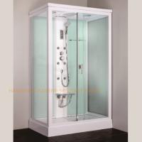 China 1200 x 800mm rectangular steam shower bath cabin computer controlled wholesale