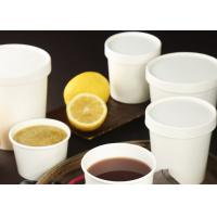 Buy cheap disposable ice cream paper cups with dome lids or flat lids and spoon from wholesalers