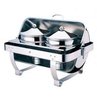 China High quality Rectangle roll top chafing dishRectangle soup station TMZ-1002S wholesale