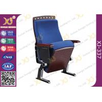 China Fire Proof Slow Returning Conference Hall Chairs , Church Auditorium Seating Chairs wholesale