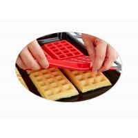 China Kitchen Rectangle Silicone Baking Molds / Silicone Waffle Mould Bakeware Cooking Tools wholesale