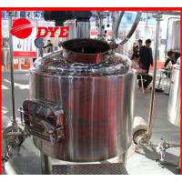 China SUS304 / SUS316 Beer Brewing Tanks Commercial High Precision wholesale