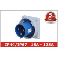 China Waterproof 220V 3 Pin And Sleeve Receptacle with Flush Mounted wholesale