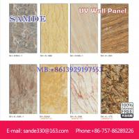 Buy cheap fireproof UV wall board is good than wall paper 2440*1220*6/8/9mm from wholesalers