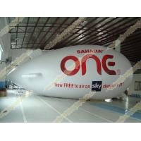 China Inflatable advertising helium zeppelin with UV Protected Printing 0.18mm PVC for opening event, outdoor advertising wholesale