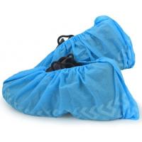 China SBPP Fabric Disposable Medical Booties Shoe Covers Non Slip Safety Sample Free wholesale