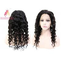 China 10A Full Lace Human Wigs Strong Lace Italian Curly Wig Unprocessed Virgin Hair wholesale