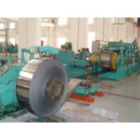 China 1450mm Tension Leveling Line Carbon Steel Strip With Two Rollers Transmission wholesale