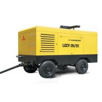 Low noise high pressure portable screw air compressor oil - less 194kw