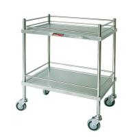 China Morning Care Nursery Medical Instrument Trolley Waste Collecting with Stainless Steel on sale