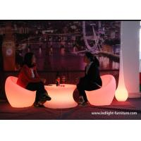 China Battery Powered Commercial LED Light Furniture , Mobile Lounge LED Bar Furniture wholesale