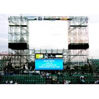 China Simple Structure Fan-less P7.8 Outdoor LED Stage Screen with 5500nit Brightness wholesale