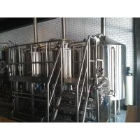China Steam Heated 7BBL Brewhouse , AISI 316 Laboratory Micro Breweries wholesale