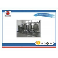China Automatic CIP Cleaning System Stainless Steel Food Grade For Juice Processing on sale