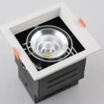 China 15Watt square venture lamp, 140*140mm led citizen cob chip grille lighting wholesale
