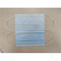 China 3 Ply / 4 Ply Personal Non Woven Disposable Mask Anti Splash For Civil Use wholesale