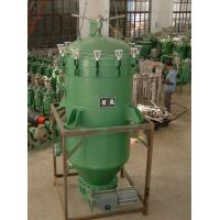 Buy cheap Precision Filtration Vertical Leaf Filter , Stainless Steel  Vertical Pressure Filter from wholesalers
