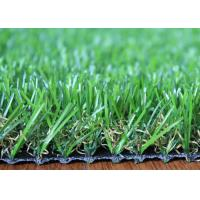 U Shape 25mm Artificial Grass Landscaping Fire Resistant For Homes Garden Backyard
