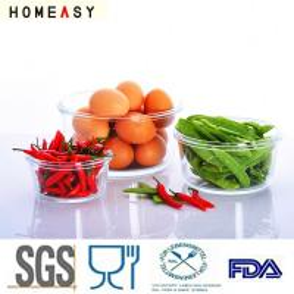 High Borosilicate Food Grade Glass Containers
