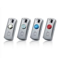 China DC 36V / 3A Access Control Exit Button , Door Access Push Button WIth Case wholesale
