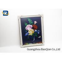 Quality PET / PP 3D Lenticular Pictures Printing Beauiful Flower Pattern For Home for sale