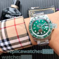 Buy cheap High Quality Replica Rolex Submariner Green Dial SS Men's Watch cheapest price from wholesalers