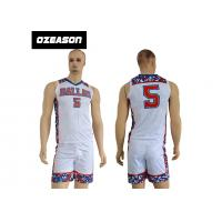 China Factory Price 100% Polyester New Model Sports Baskrtball Uniform For Men wholesale