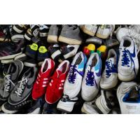 China Durable Man or Women Used Sport Shoes / Second Hand Shoes Red White Grey Colorful wholesale